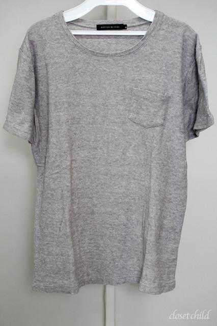 GOSTAR DE FUGA Tシャツ.Grist マーブルビンテージパイルポケット