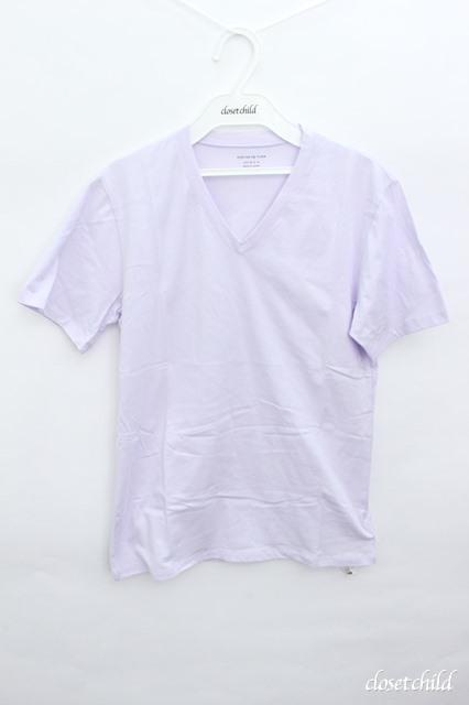 GOSTAR DE FUGA Tシャツ.国産半袖無地Vネック'18SS