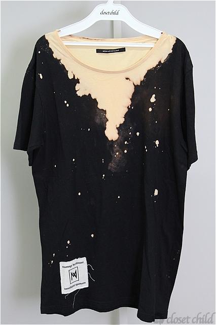 Moonage Devilment(清春) Tシャツ.GA OSAKA LIMITED BLEACH-T