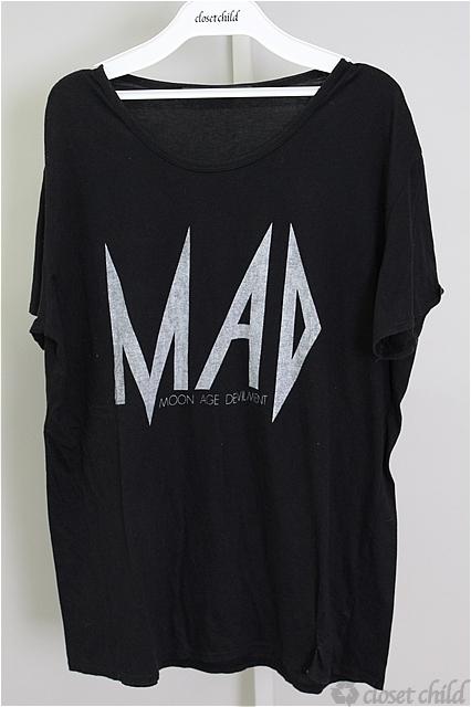 Moonage Devilment(清春) Tシャツ.MADロゴ